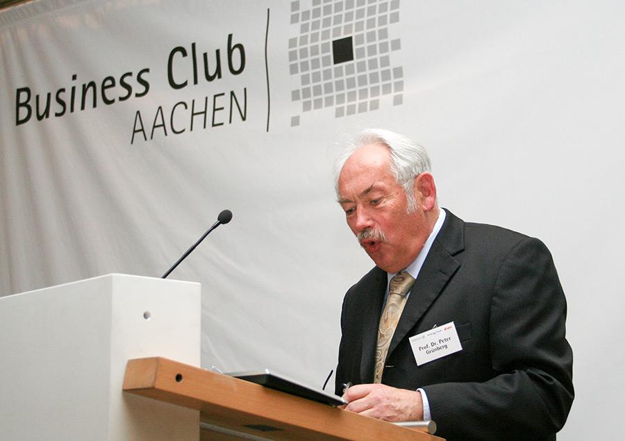 Nobelpreisträger Prof. Dr. Grünberg 2008