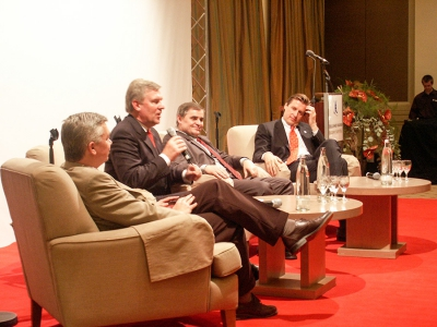 Ministerpräsident Peter Müller 2005