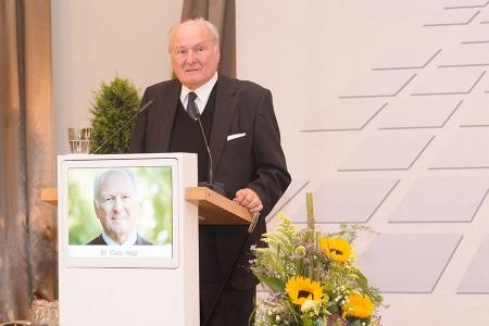 Prof. Dr. Claus Hipp – Unternehmerpreis 2018